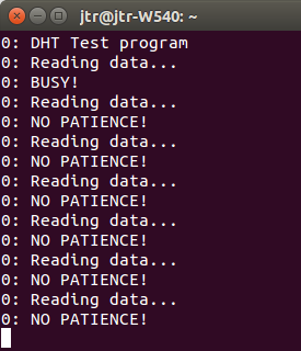 Timed responses to readData()
